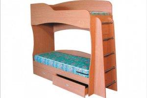 Детская кровать двухъярусная Алладин - Мебельная фабрика «VLAST»