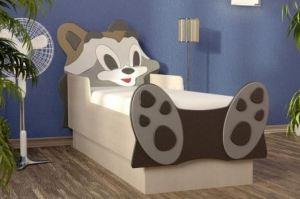 Детская кровать Енот - Мебельная фабрика «Империя», г. Волжск