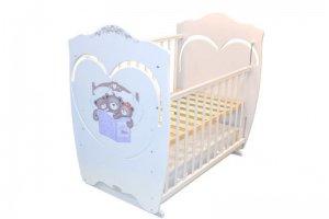 Детская кровать Famille 120х60 - Мебельная фабрика «Лабэль»