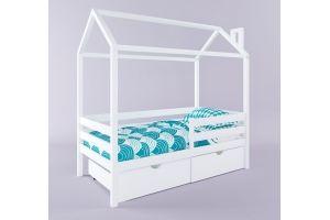 Детская кровать Герда с крышей и ящиками - Мебельная фабрика «RuLes»