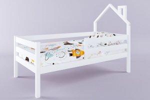 Детская кровать Герда с мини крышей - Мебельная фабрика «RuLes»