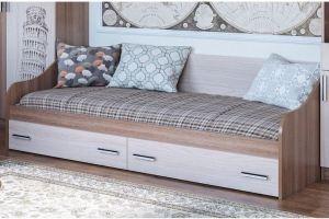 Детская кровать ГОРОД с ящиками - Мебельная фабрика «Северная Двина»