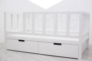 Детская кровать из массива бука - Мебельная фабрика «Вестра»