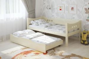 Детская кровать из массива сосны Легенда 15.2 - Мебельная фабрика «Легенда»