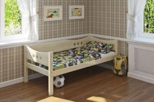 Детская кровать из массива сосны Легенда 15 - Мебельная фабрика «Легенда»