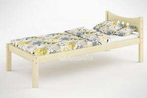 Детская кровать из массива сосны Легенда 21 - Мебельная фабрика «Легенда»