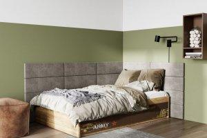 Детская кровать Junior Print Military - Мебельная фабрика «Клюква»