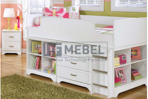 Детская кровать комод - Мебельная фабрика «ITF Mebel»
