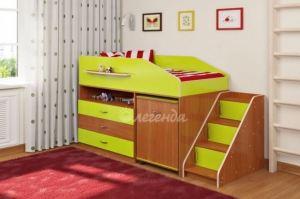 Детская кровать Легенда 12.2 - Мебельная фабрика «Легенда»