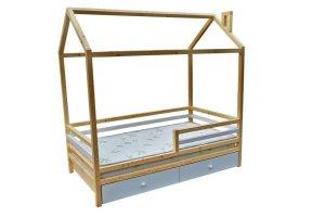 Детская кровать Литл стандарт с ящиками - Мебельная фабрика «ВЭФ»
