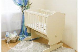 Детская кровать Люлька С862 - Мебельная фабрика «Красная звезда»