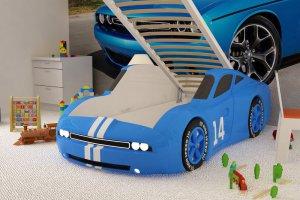Детская кровать - машина Челленджер - Мебельная фабрика «Red River»