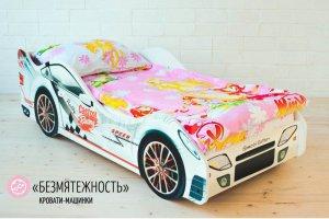 Детская кровать-машинка Безмятежность - Мебельная фабрика «Гамма-мебель»