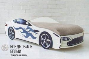 Детская кровать-машинка Бонд мобиль - Мебельная фабрика «Гамма-мебель»
