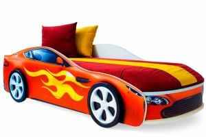 Детская кровать-машинка Бондмобиль красный - Мебельная фабрика «Бельмарко»
