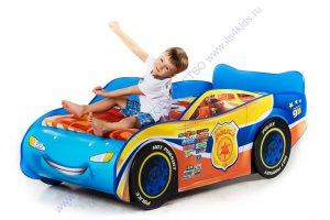 Детская кровать машинка ТАЧКА полиция - Мебельная фабрика «Тридевятое царство»