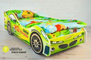 Детская кровать-машинка Вихрь - Мебельная фабрика «Гамма-мебель»