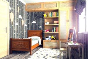 Детская кровать Мечта 2 - Мебельная фабрика «DM- darinamebel»