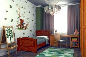 детская кровать Мишутка 2 - Мебельная фабрика «DM - DarinaMebel»