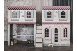 Детская кровать для 2х детей Пряничный домик - Мебельная фабрика «Mamka»