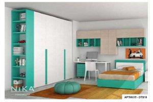ДЕТСКАЯ кровать с распашным шкафом ГУЛЛИВЕР - Мебельная фабрика «NIKA premium»