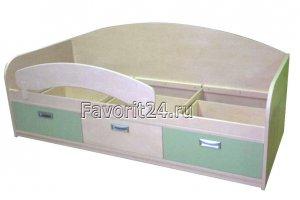 Детская кровать с тремя ящиками - Мебельная фабрика «Фаворит»