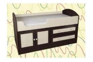 Детская кровать с выдвижным ящиком 2 - Мебельная фабрика «Алекс-мебель»