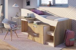 Детская кровать с ящиками Бриз - Мебельная фабрика «Виктория»