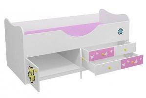 Детская кровать с ящиками Находка 1 Л - Мебельная фабрика «Мебель от Михаила»