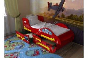 Детская кровать Самолет 2 - Мебельная фабрика «СлавМебель»