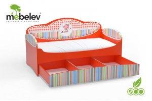 Детская кровать серии Mia с ящиками - Мебельная фабрика «МебеЛев», г. Набережные Челны