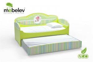 Детская кровать серии Mia с дополнительным матрасом - Мебельная фабрика «Футука Кидс»