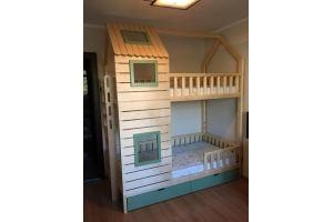 Детская кровать-шалаш Полли - Мебельная фабрика «ВЭФ»