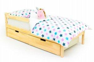 Детская кровать SKOGEN натура - Мебельная фабрика «Бельмарко»
