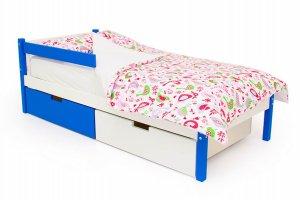 Детская кровать SKOGEN сине-белый - Мебельная фабрика «Бельмарко»