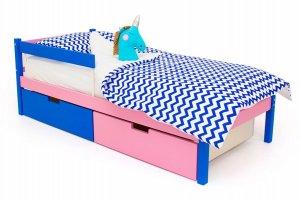 Детская кровать SKOGEN синий-лаванда - Мебельная фабрика «Бельмарко»