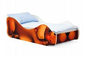 Детская кровать Собачка-Жучка - Мебельная фабрика «Бельмарко»