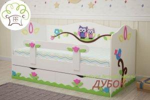 Детская кровать Совята  - Мебельная фабрика «Дубок»