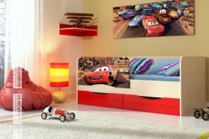 Детская кровать Тачки - Мебельная фабрика «Вавилон58»