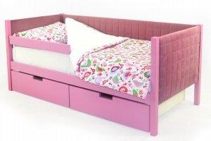 Детская кровать-тахта мягкая Svogen лаванда - Мебельная фабрика «Бельмарко»