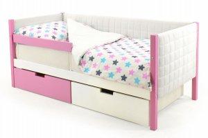 Детская кровать-тахта мягкая Svogen лаванда-белый - Мебельная фабрика «Бельмарко»