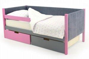 Детская кровать-тахта мягкая Svogen лаванда-графит - Мебельная фабрика «Бельмарко»