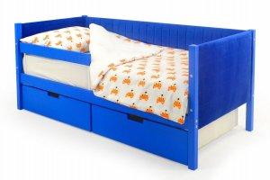Детская кровать-тахта мягкая Svogen синий - Мебельная фабрика «Бельмарко»