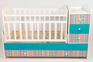 детская кровать ТЕКС — ИЗУМРУД - Мебельная фабрика «Папа Карло»