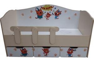 Детская кровать Три кота - Мебельная фабрика «ПМК ВиП»