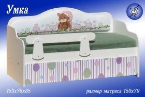 Детская кровать Умка - Мебельная фабрика «ВиТа-мебель»