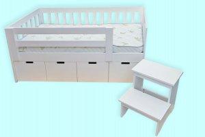 Детская кровать Вади 4 ящика - Мебельная фабрика «ВЭФ»