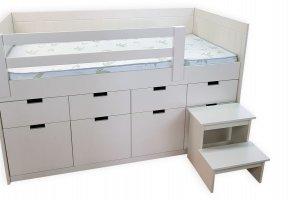 Детская кровать Вади 8 ящиков - Мебельная фабрика «ВЭФ»