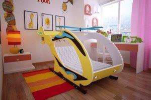 Детская кровать-вертолет - Мебельная фабрика «Red River»