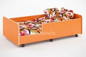 Детская кровать выдвижная Легенда 24 - Мебельная фабрика «Легенда»